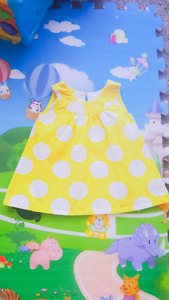 Baby 6 dresses 3-6 months