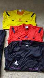 Men's soccer referee kit w/ flags pump shorts watch whistle Regina Regina Area image 2