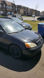 2001 Honda civic $750