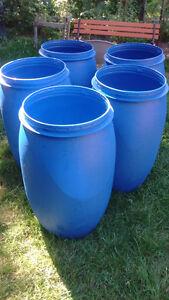 35 Gallon Food Grade Open Top Barrel Drum Plastic