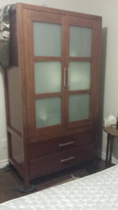 Solid Wood Armoire or TV Cabinet or for many other uses