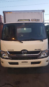 HEAVY TRUCK CAMION HINO SILVERNIGHT 2013 WITH 17FT CABIN