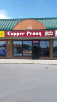 Copper Penny Grill n Home requires servers & dishwashers