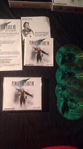 final fantasy VII (7) pour PC a vendre