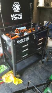 Matco tools tool cart