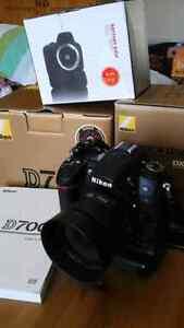 Nikon D7000 w/  35mm f1.8 + grip