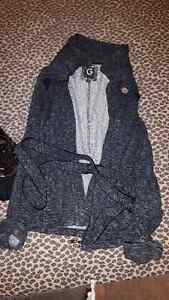 Guess 'sweater coat' with belt