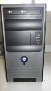 Midtower with i3-core, Fresh Windows 7 and Warranty