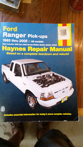 Haynes Ford Ranger manual
