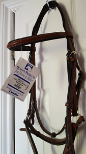 Brown Leather English Bridle