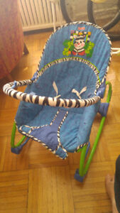 Free Baby Rocking/Vibrating Chair