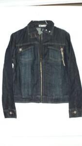 New Women's Jean Denim Jacket