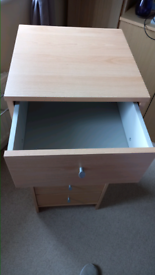 5 drawer storage unit