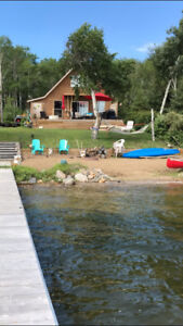 Lake front cottage at Emma Lake for rent. Dates August 12 -19.