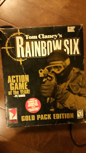 Tom Clancy's Rainbow six gold pack edition for computer