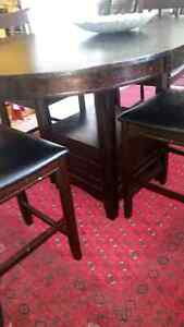 Solid Wood Dining Set Table with 4 Chairs for just $490 London Ontario image 6