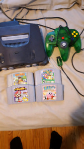 n64 bundle nintendo 64 sale or trade