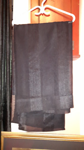 Black Hometrends Curtains