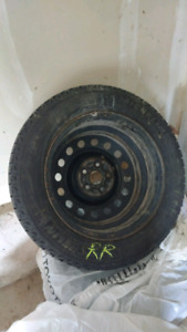Winter rims and tires - set of 4
