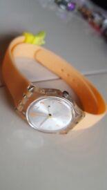 Swatch watch- wrap around
