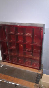 shot glass shelf