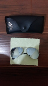 Ray Ban Aviators RB3025 Polarized Sunglasses