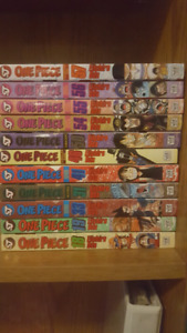 One piece graphic novels