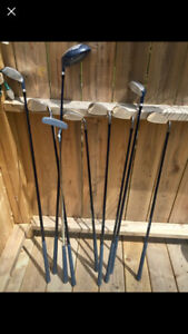 Left-Handed Golf Clubs - like NEW!!!