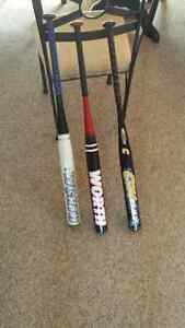 i have three slo-pitch bats for sale
