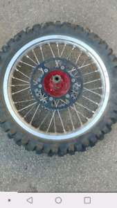 Rims for a crf 250/450