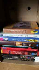 Psychology (mostly) text books