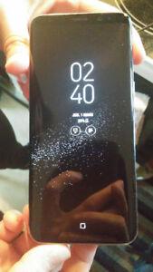 Samsung S8 avec étui à vendre