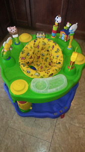Farm themed evenflo exersaucer