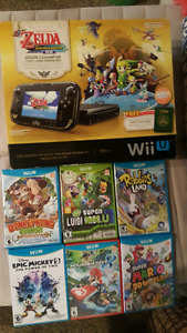 Wii U - Windwaker Special Edition  & Games