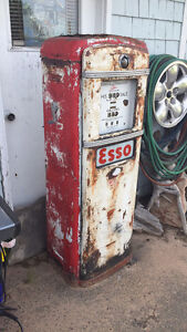 Early 50's gas pump