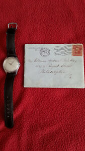 HIGHLY COLLECTABLE JOHN WANAMAKER ARTIFACTS - WATCH AND LETTER