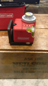 Craftsman 360 degree laser level
