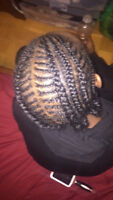 BRAIDS, EXTENSIONS BOX BRAID AND SEW-INS!! HAIR STYLIST!!