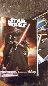 LEGO Darth Vader Toy- Original box with Instructions booklet Peterborough Peterborough Area image 2