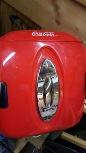 coca cola cube fridge 1990 vintage