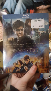 Harry Potter collection+Fantastic Beasts on blue ray