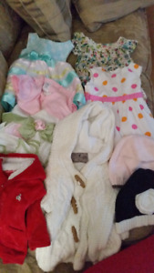 0-3M GIRLS CLOTHES