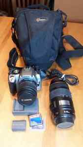 Canon EOS Rebel XT bundle with 75-300 IS zoom