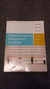 Human Resources Management in Canada Textbook