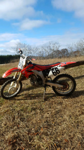 Excellent  CRF450 trade, plus gear