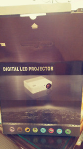 LED Projector- Black