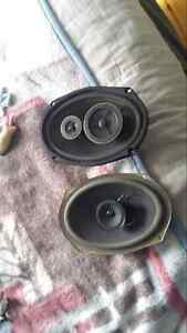 SONY EXS-93 2-WAY SPEAKERS