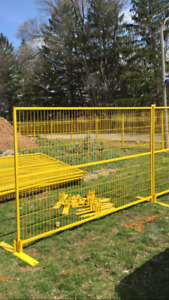 Construction Fence - Temporary Fence - RENTAL