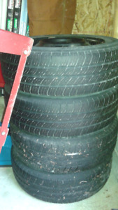 P175/65R14 Michelin Harmony All Season Tires With Rims