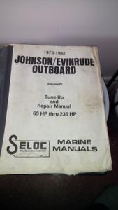 Older Jhonson, Evenrude SHOP MANUAL